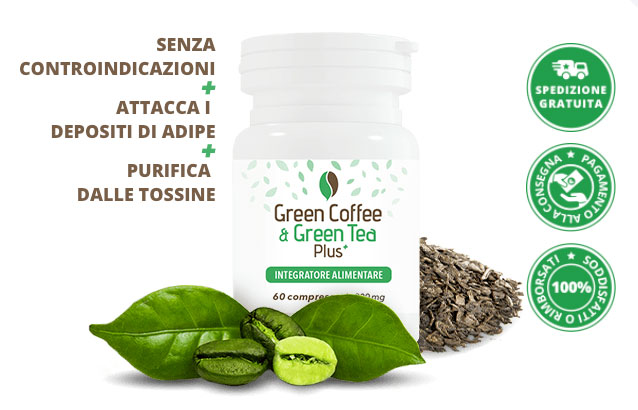 Green Coffee Green Tea dimagrante