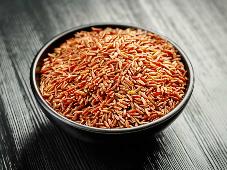 i benefici del riso rosso