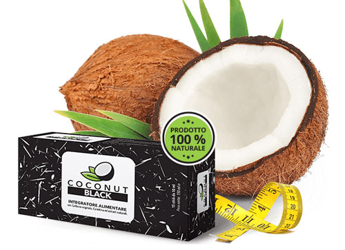 Coconut Black integratore dimagrante