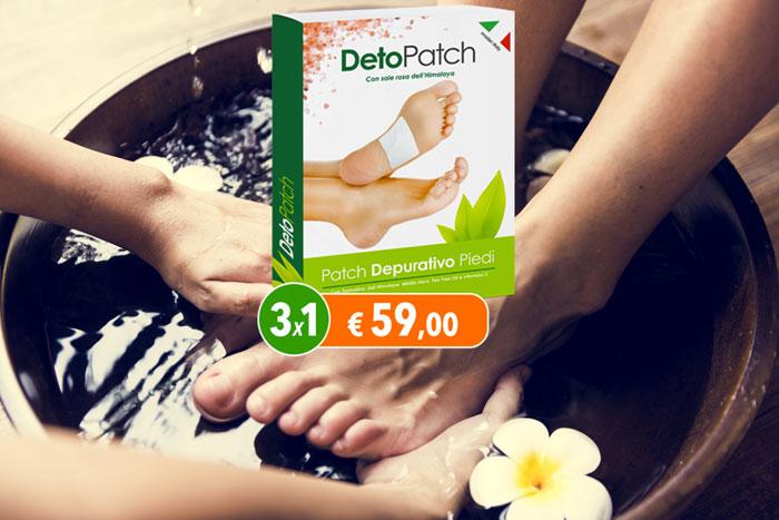 deto patch cerotto depurativo piedi