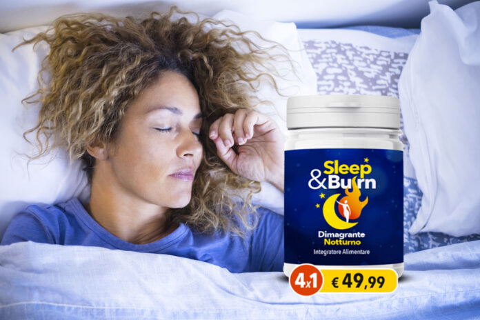 sleep e burn integratore naturale dimagrante